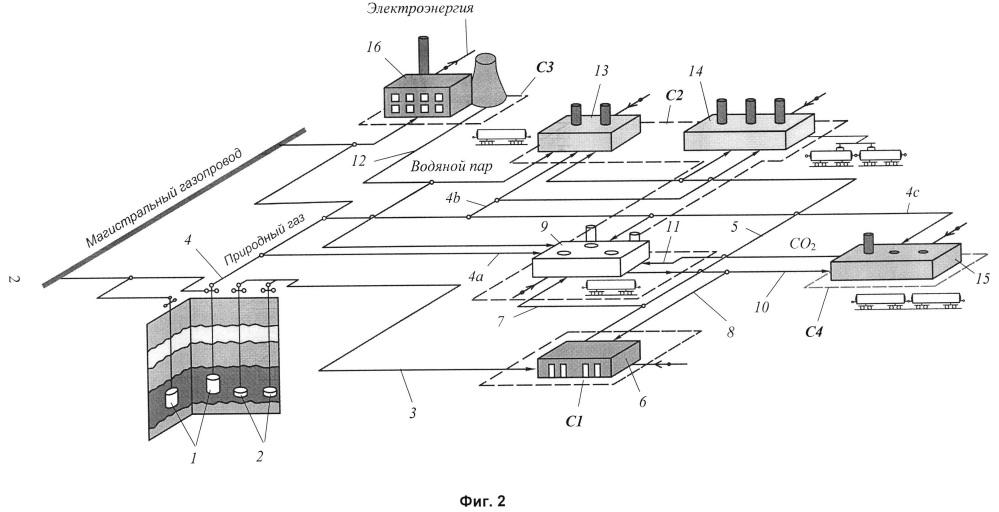 Технологический комплекс по переработке рассола при сооружении подземных хранилищ газообразных и жидких продуктов в отложениях каменной соли
