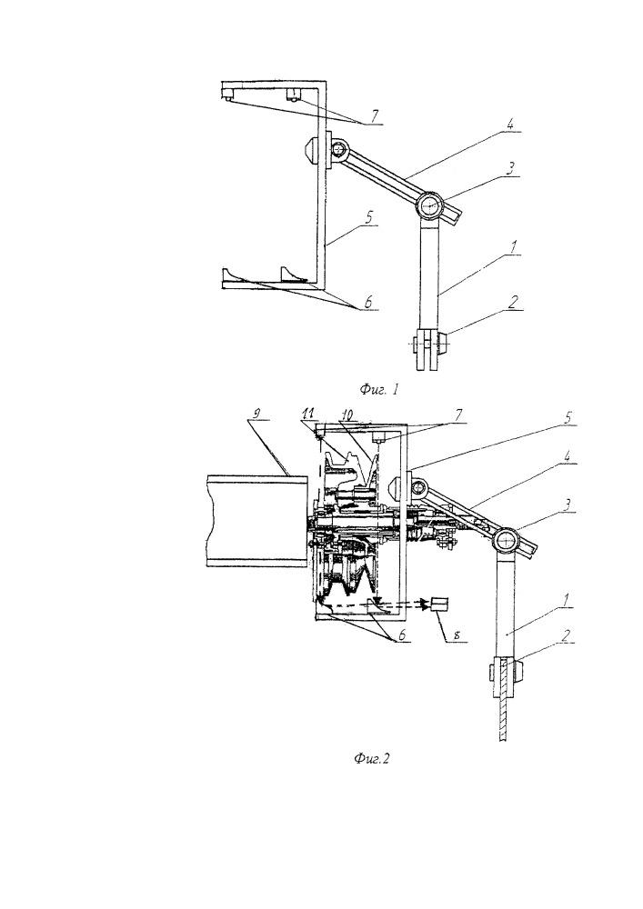 Устройство контроля технического состояния вариатора частоты вращения молотильного барабана зерноуборочного комбайна