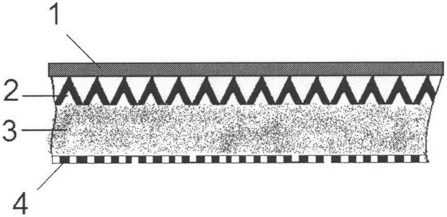 Звукопоглощающий элемент со звукоотражающим слоем