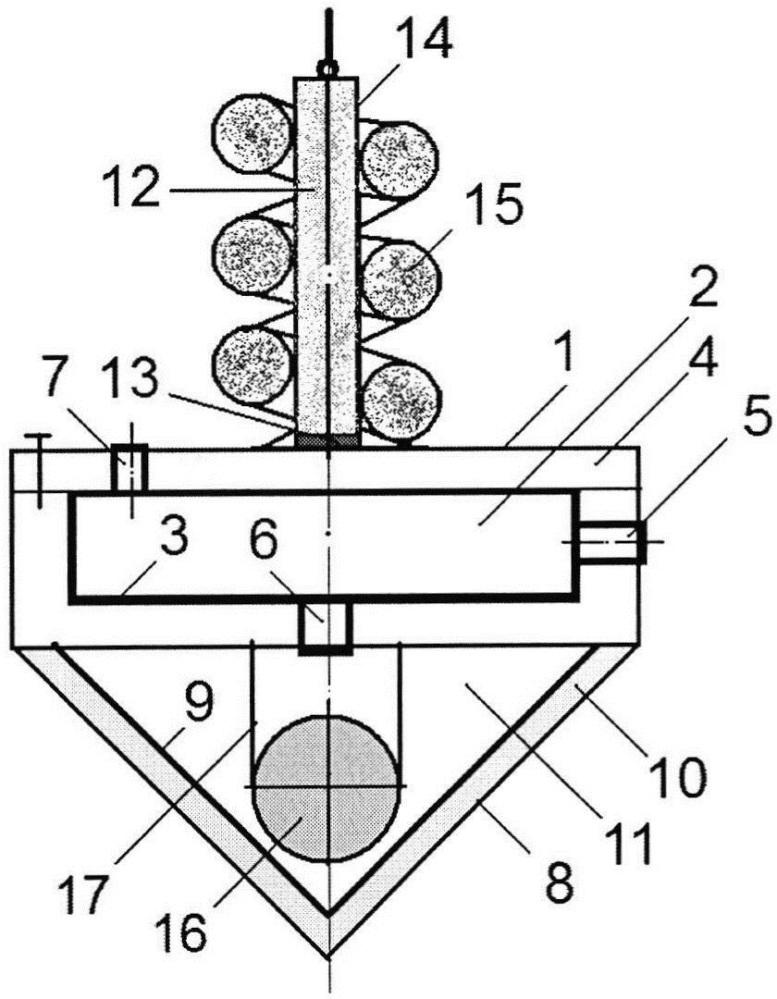Штучный звукопоглотитель комбинированного типа