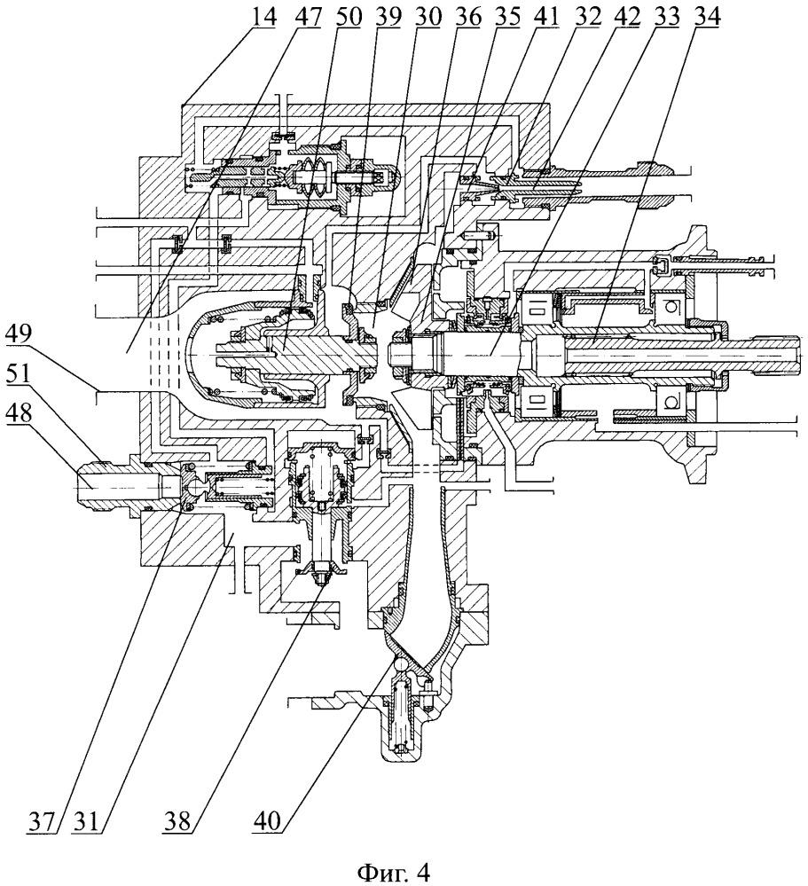 Способ работы коробки двигательных агрегатов (кда) турбореактивного двигателя (трд) и кда, работающая этим способом (варианты), способ работы насоса форсажного кда трд и насос форсажный, работающий этим способом