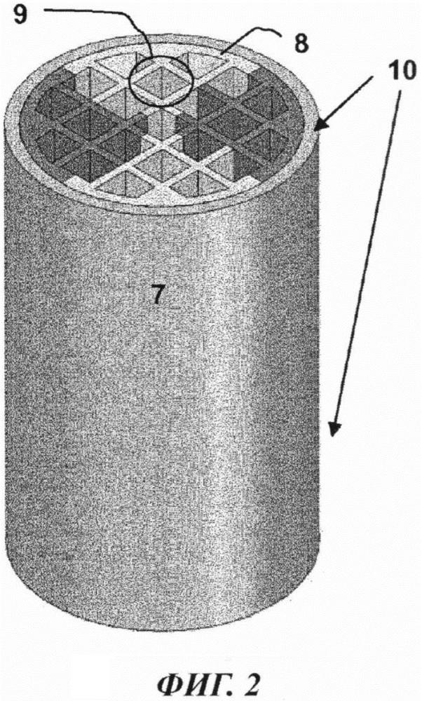 Многоструктурный реактор, изготовленный из монолитных смежных теплопроводящих тел, для химических процессов с высоким теплообменом