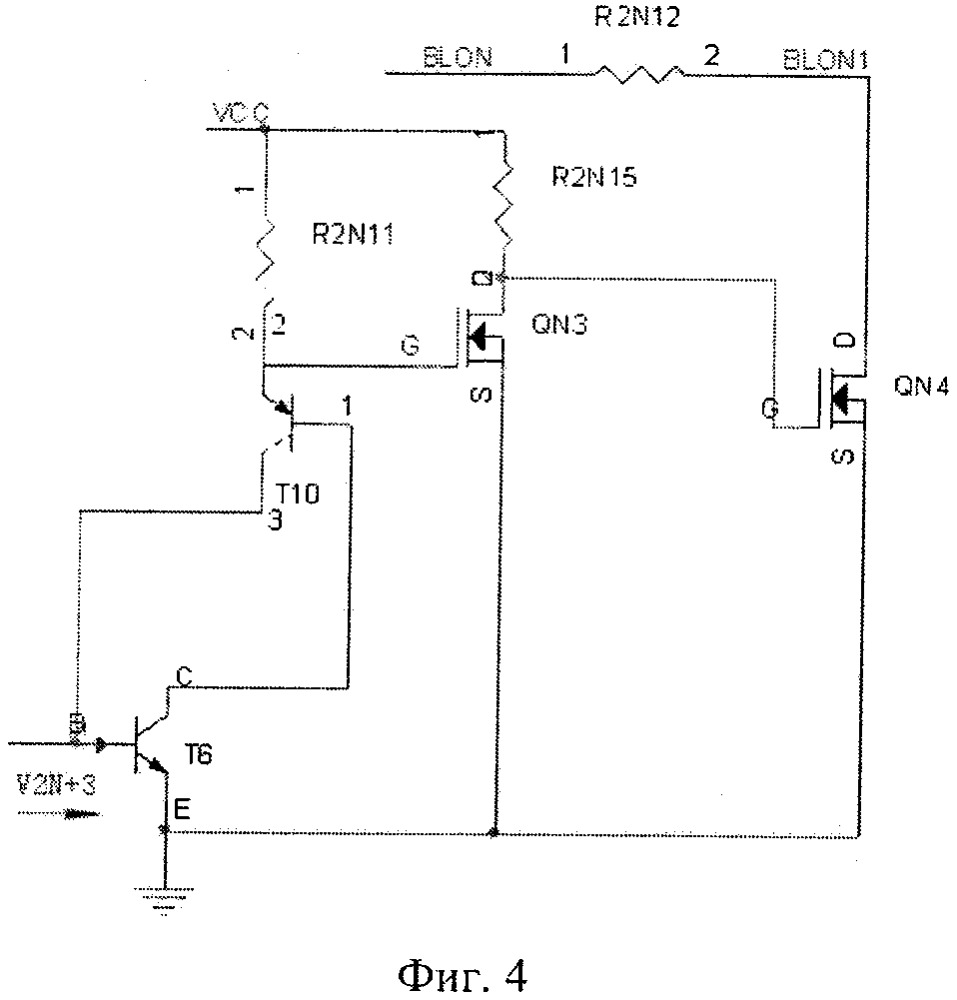 Защита от перегрузки одной цепочки и схема драйвера источника освещения для устройства отображения