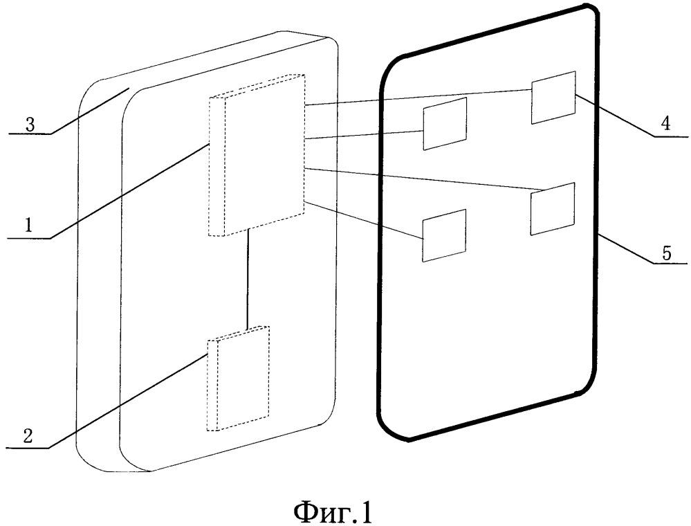 Терминал для распознавания отпечатка пальца