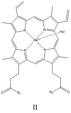 Циклическое производное гемина с антимикробными свойствами и способ его синтеза