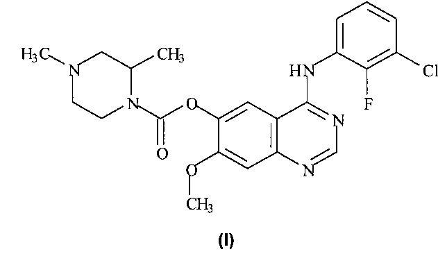 Хиназолиновые ингибиторы активирующих мутированных форм рецептора эпидермального фактора роста