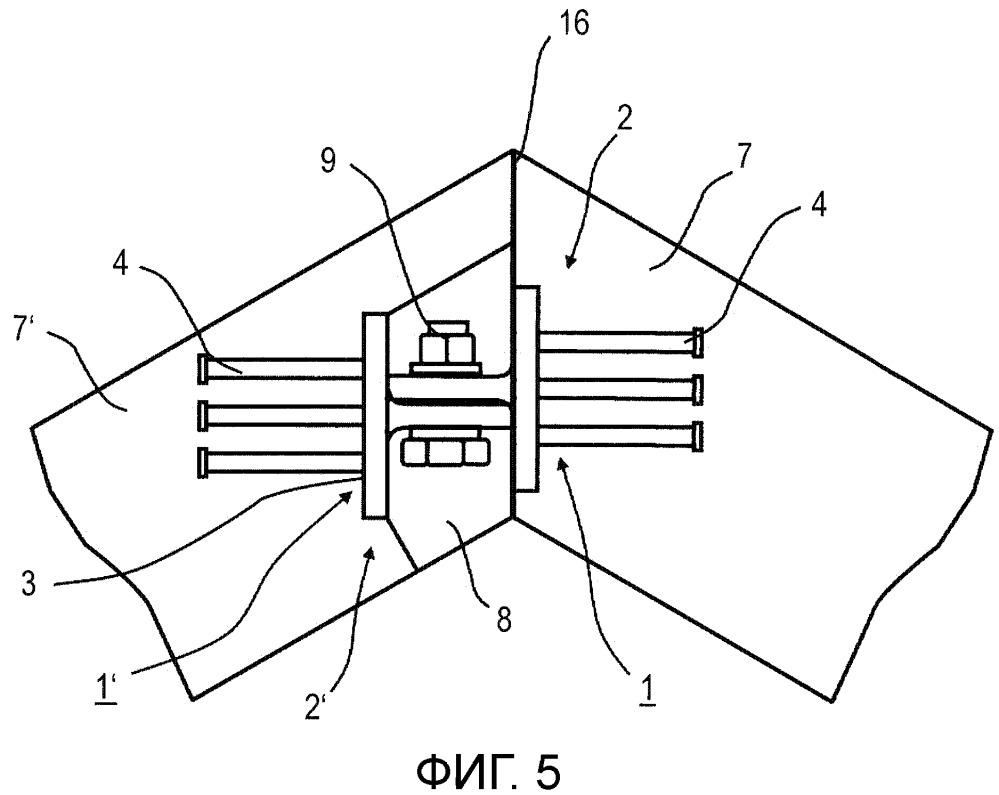 Бетонная конструкция модульного исполнения