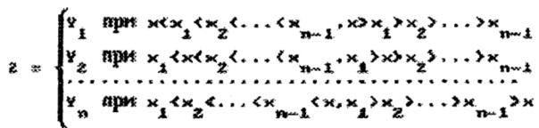 Способ хранения и считывания аналоговых значений функций многих переменных