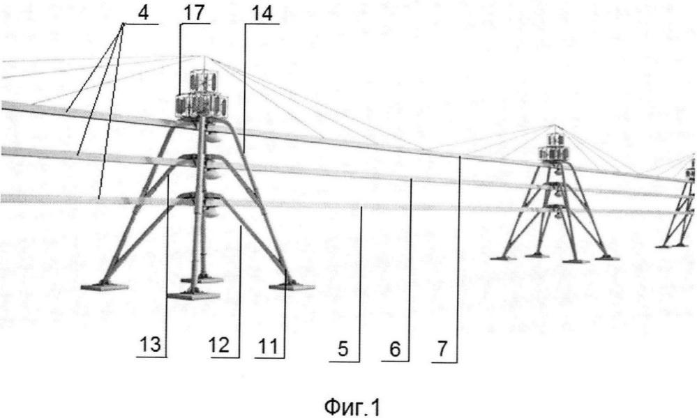 Скоростная автономная транспортная система подвесного типа страус шумовского