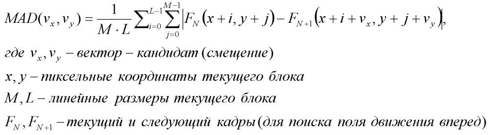 Оценка движения путем трехмерного рекурсивного поиска (3drs) в реальном времени для преобразования частоты кадров (frc)