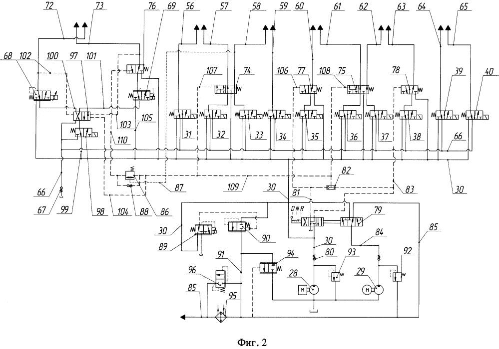 Устройство электрогидравлического управления двойным сцеплением и коробкой передач