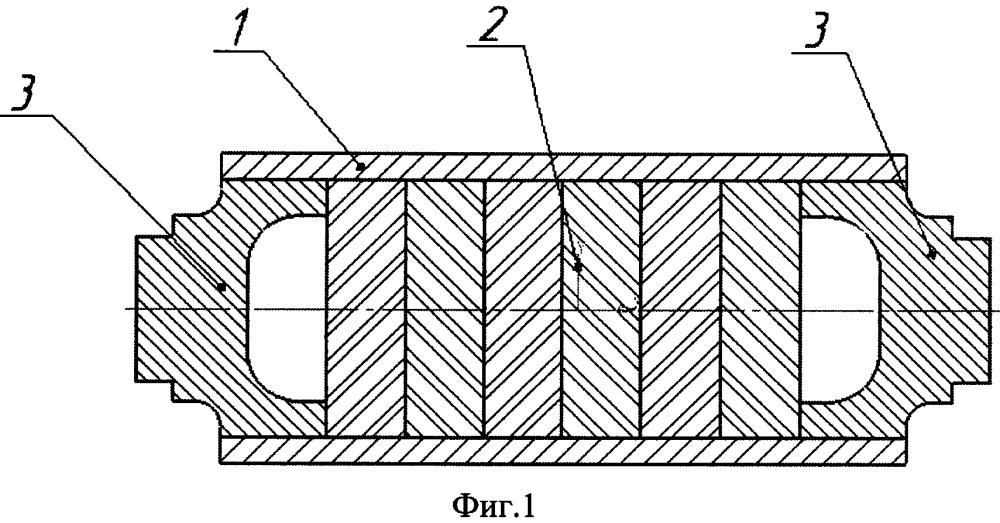 Ротор для высокоскоростных электромеханических преобразователей энергии с высококоэрцитивными постоянными магнитами