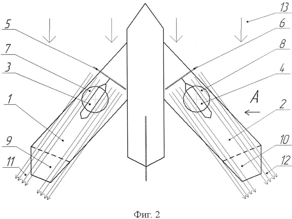 Способ вертикального перемещения и зависания самолета в воздухе