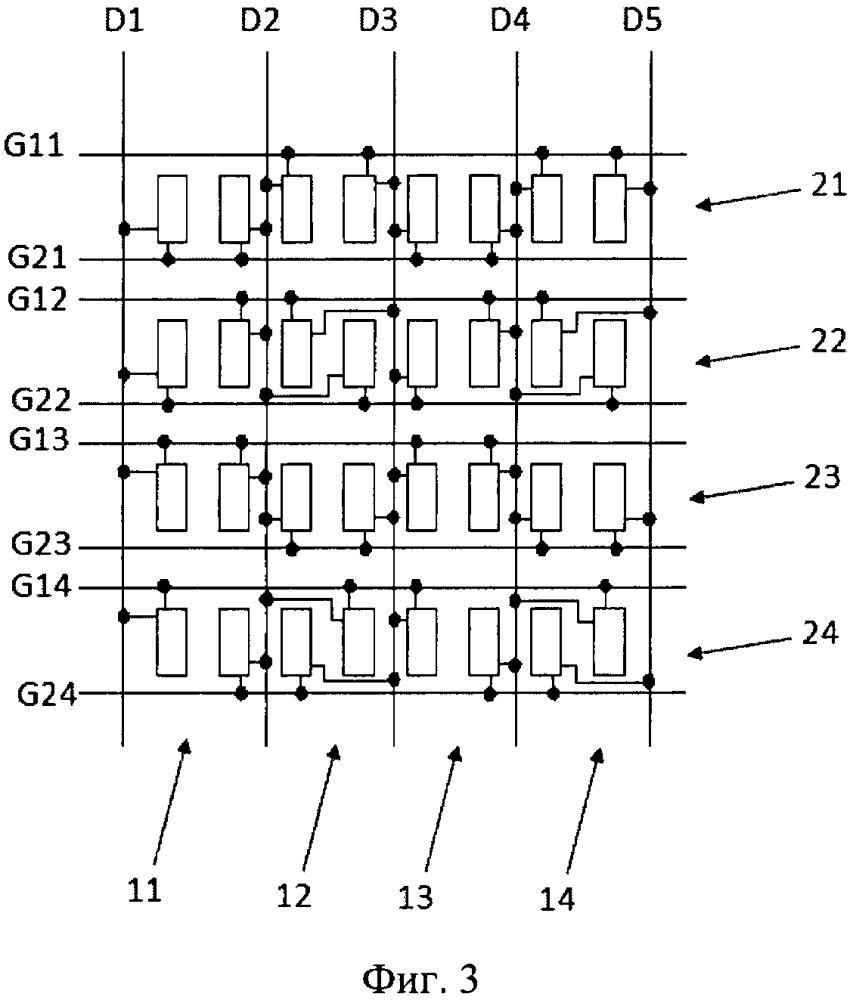 Подложка матрицы, жидкокристаллическая панель и жидкокристаллическое устройство отображения