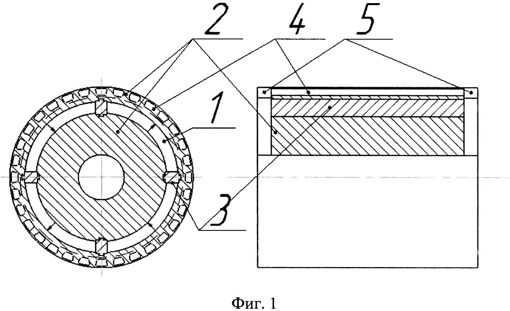 Магнитная система ротора синхронного двигателя с инкорпорированными магнитами (варианты)