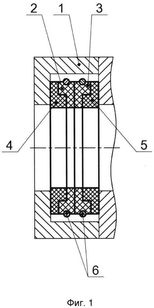 Уплотнительное устройство сальника штока