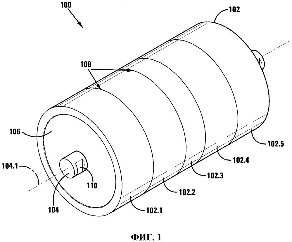 Сегментированный опорный ролик для применения в установке ленточного конвейера