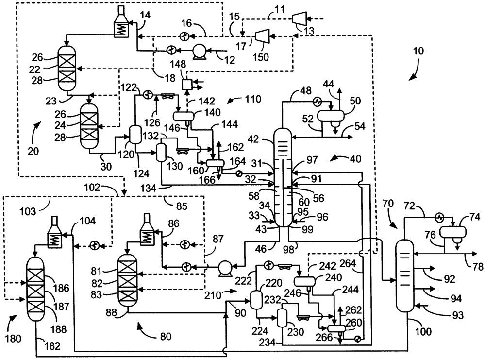 Способ и установка для получения дизельного топлива с высоким цетановым числом