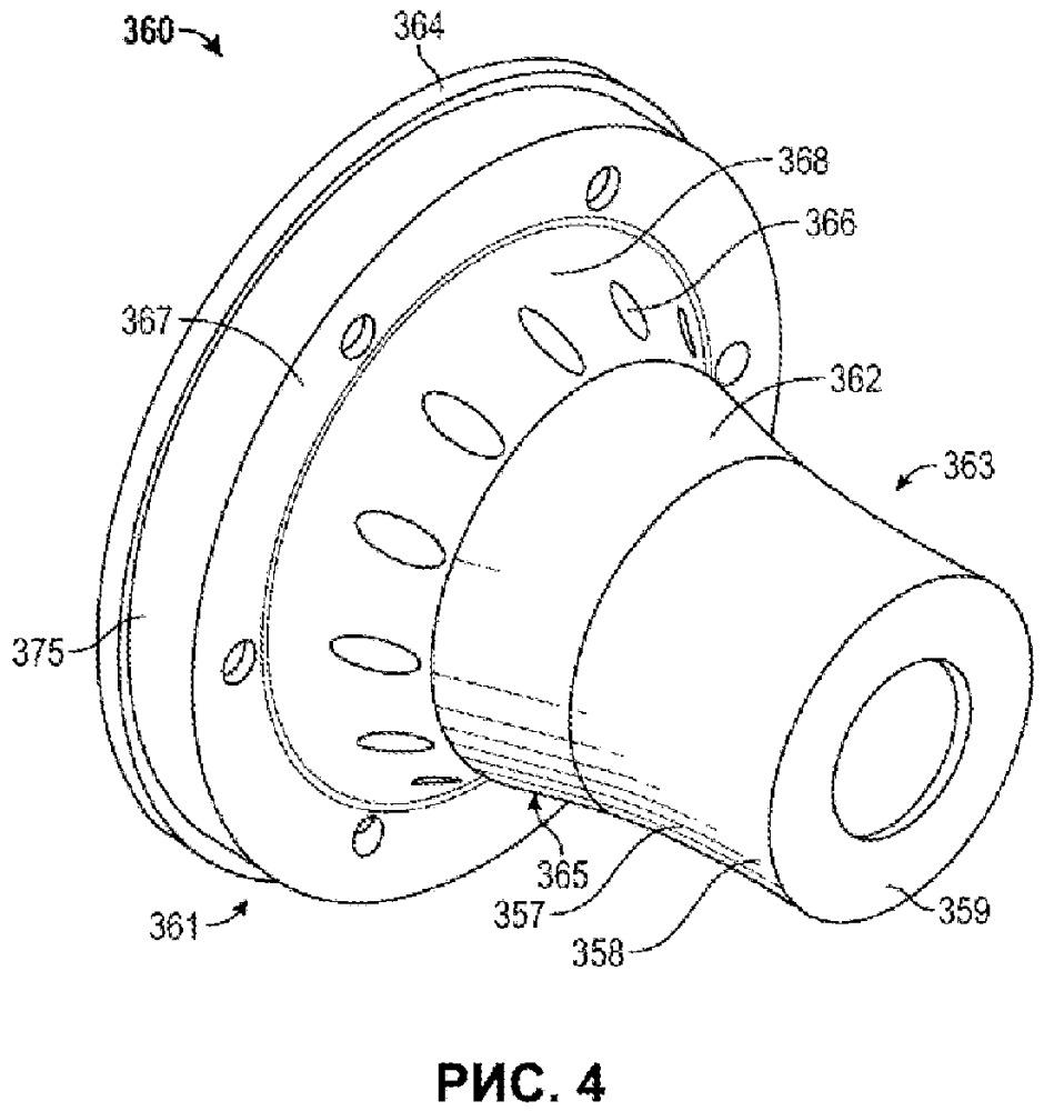 Воздушная очистка внутренней камеры предварительного смешивания