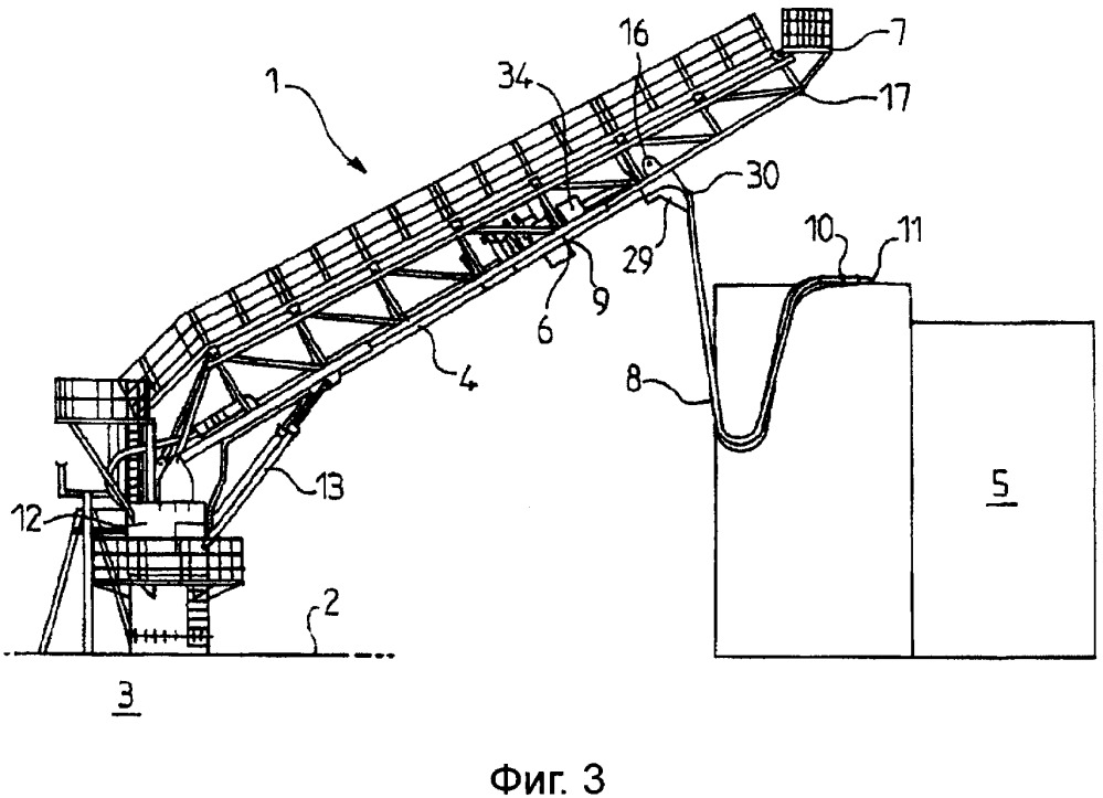 Система для перекачки жидкости между судном и плавучим сооружением, например судном клиента