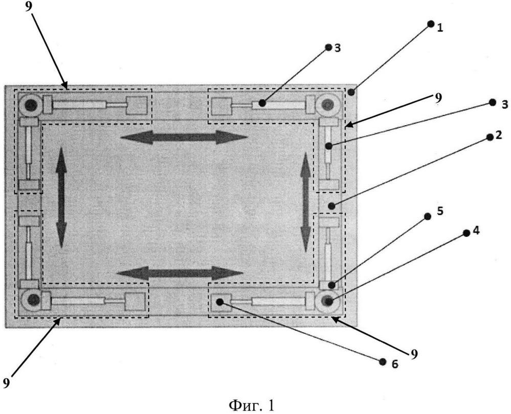 Виброизоляционная платформа для высокочувствительного оборудования и источников вибраций
