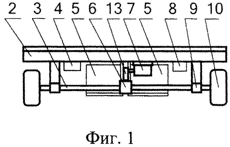 Агрегат транспортировочный электрифицированный радиоуправляемый