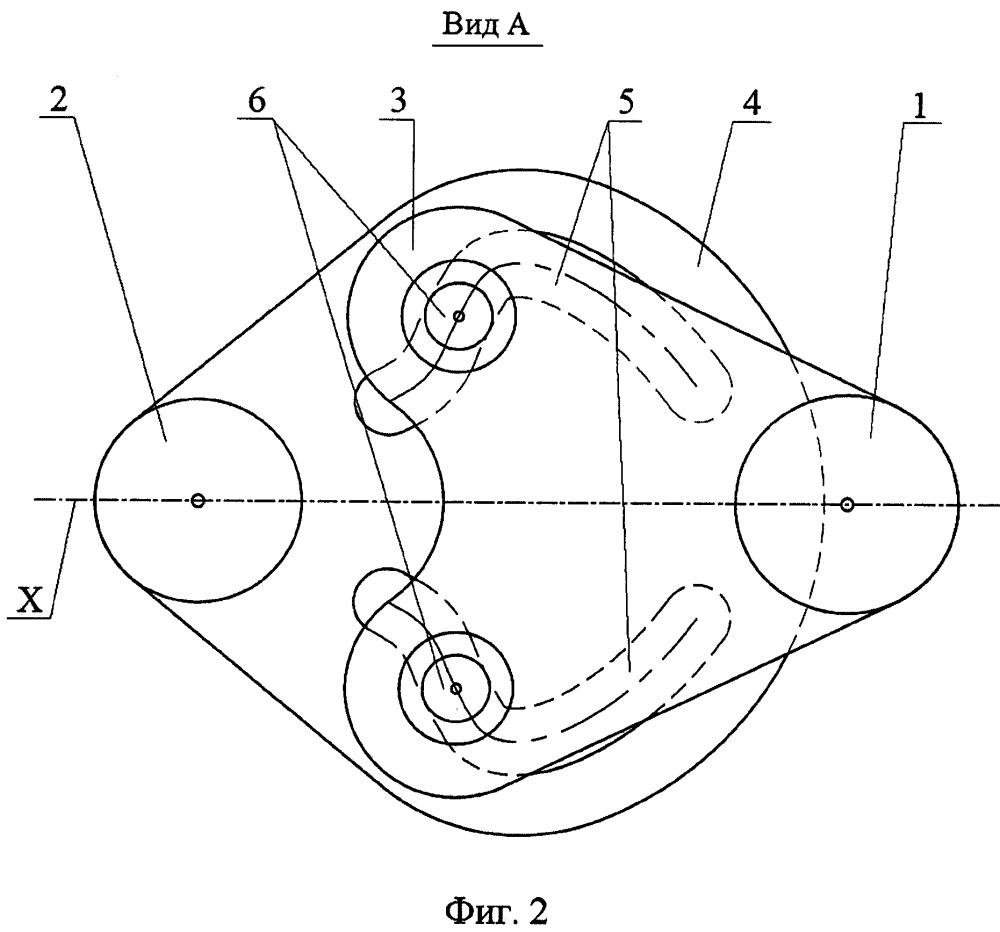 Механизм передачи вращательного движения с запаздыванием и механизм рулевого управления колесами заднего моста с его использованием