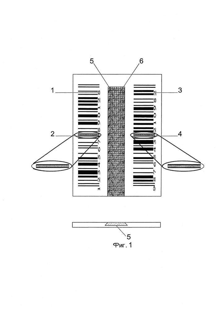 Способ изготовления штрихкода для металлических изделий