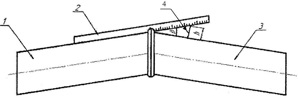 Способ определения косины кольцевого сварного стыка стальных труб