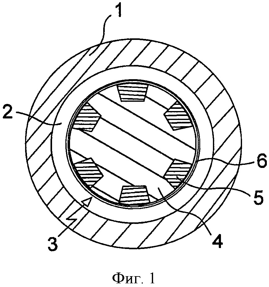 Ротор электродвигателя с наружной оболочкой, образованной путем намотки, способ изготовления такого ротора и электродвигатель с таким ротором