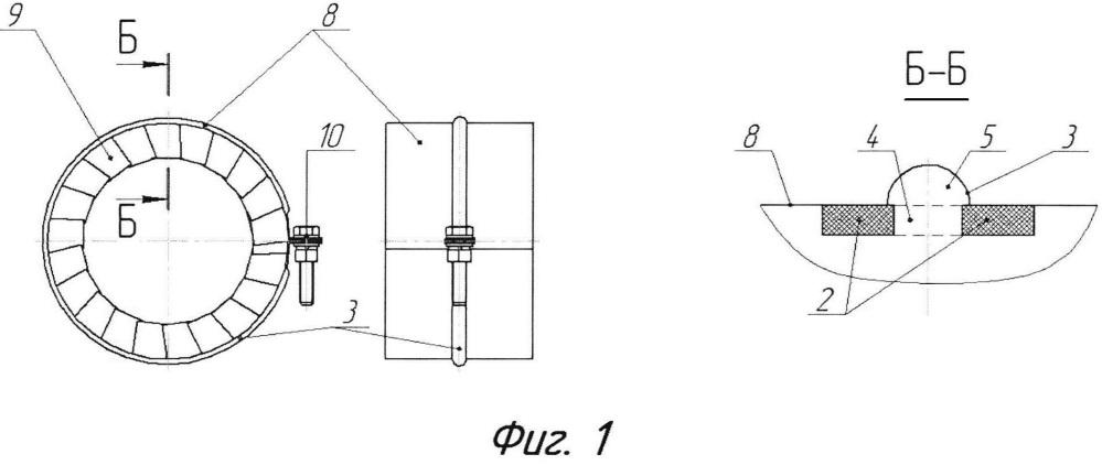 Защитный кожух для стыков трубопровода и его соединений с трубопроводной арматурой