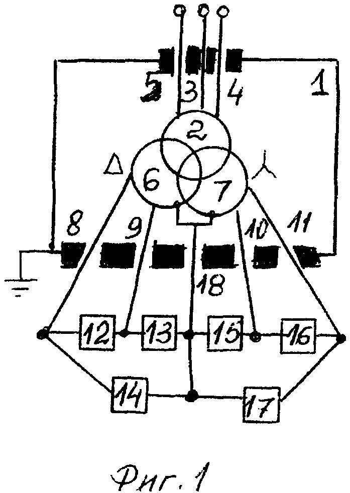 Реактор-трансформаторный тиристорный компенсатор (варианты)