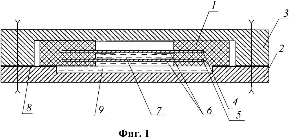 Месдоза для измерения напряжения в грунтах