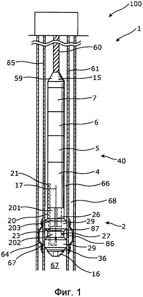 Скважинный насосный узел и скважинная система