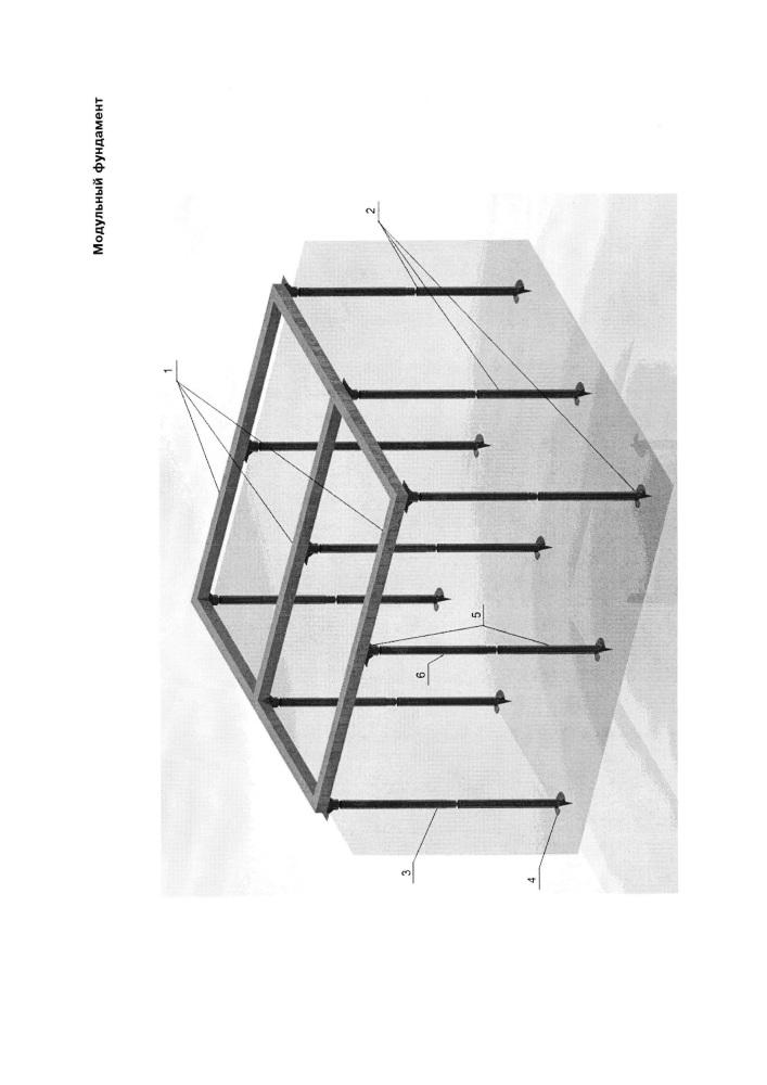 Модульный фундамент
