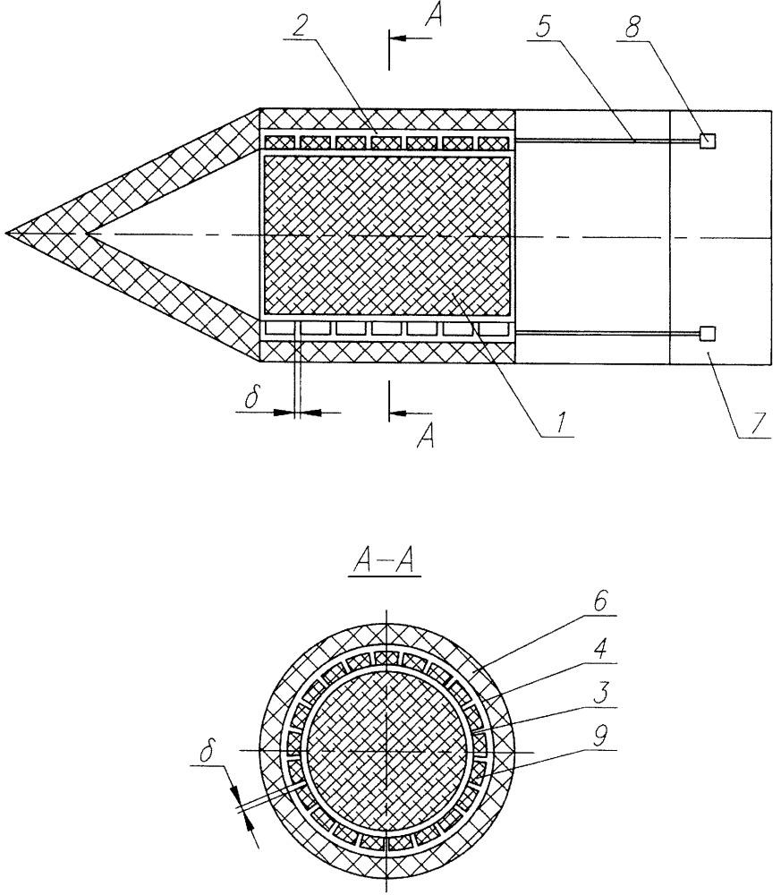 Устройство тепловой защиты летательного аппарата