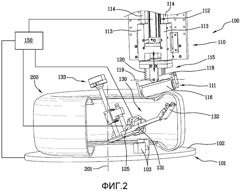 Способ и устройство для контроля шин на линии для производства шин