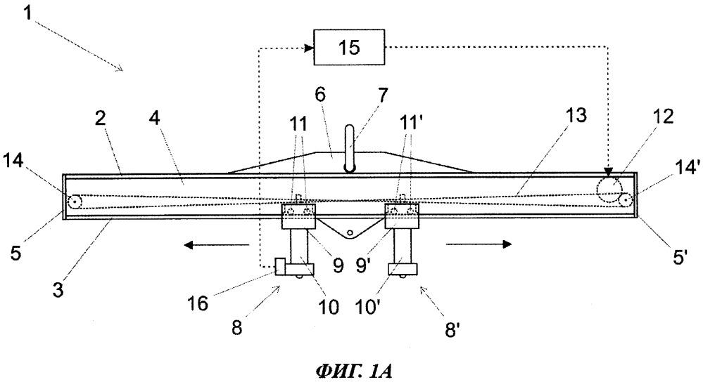 Подъемная стрела для подъема бетонных изделий и способ подъема бетонных изделий с помощью подъемной стрелы