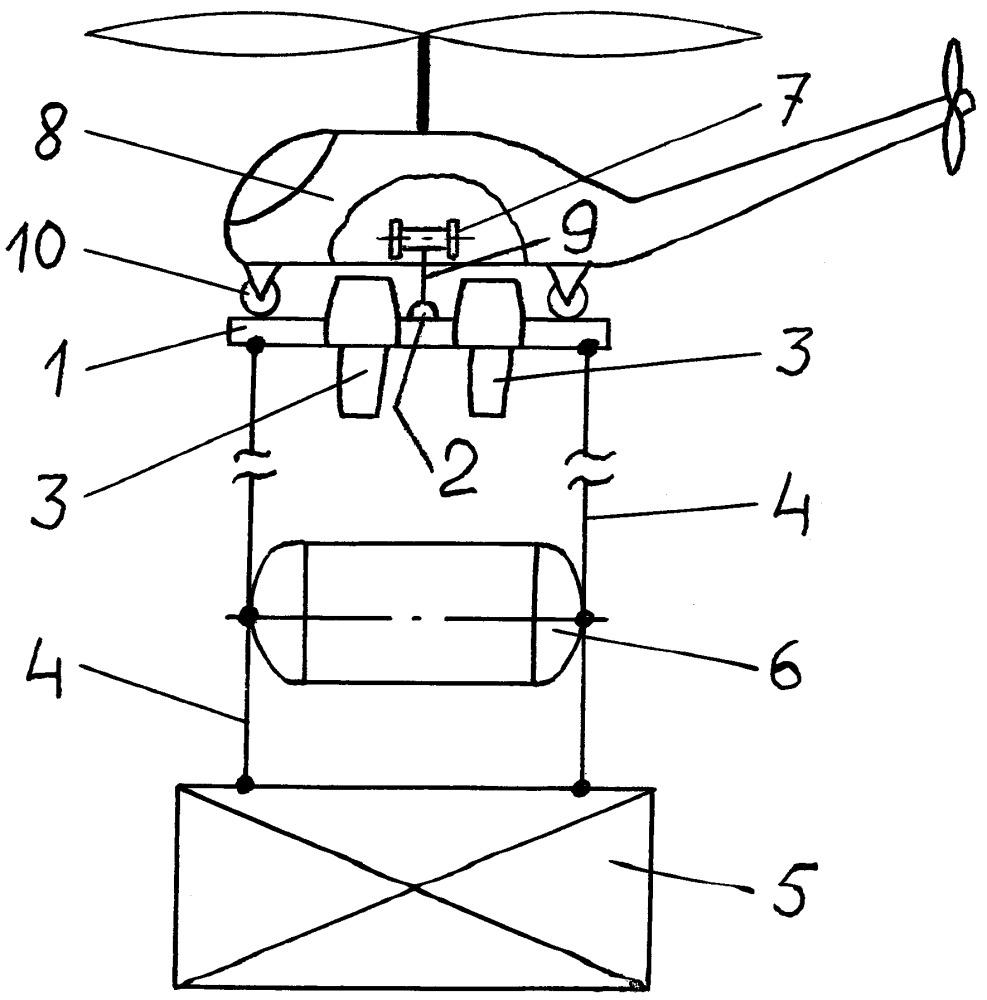 Подъёмно-транспортная приставка к вертолёту