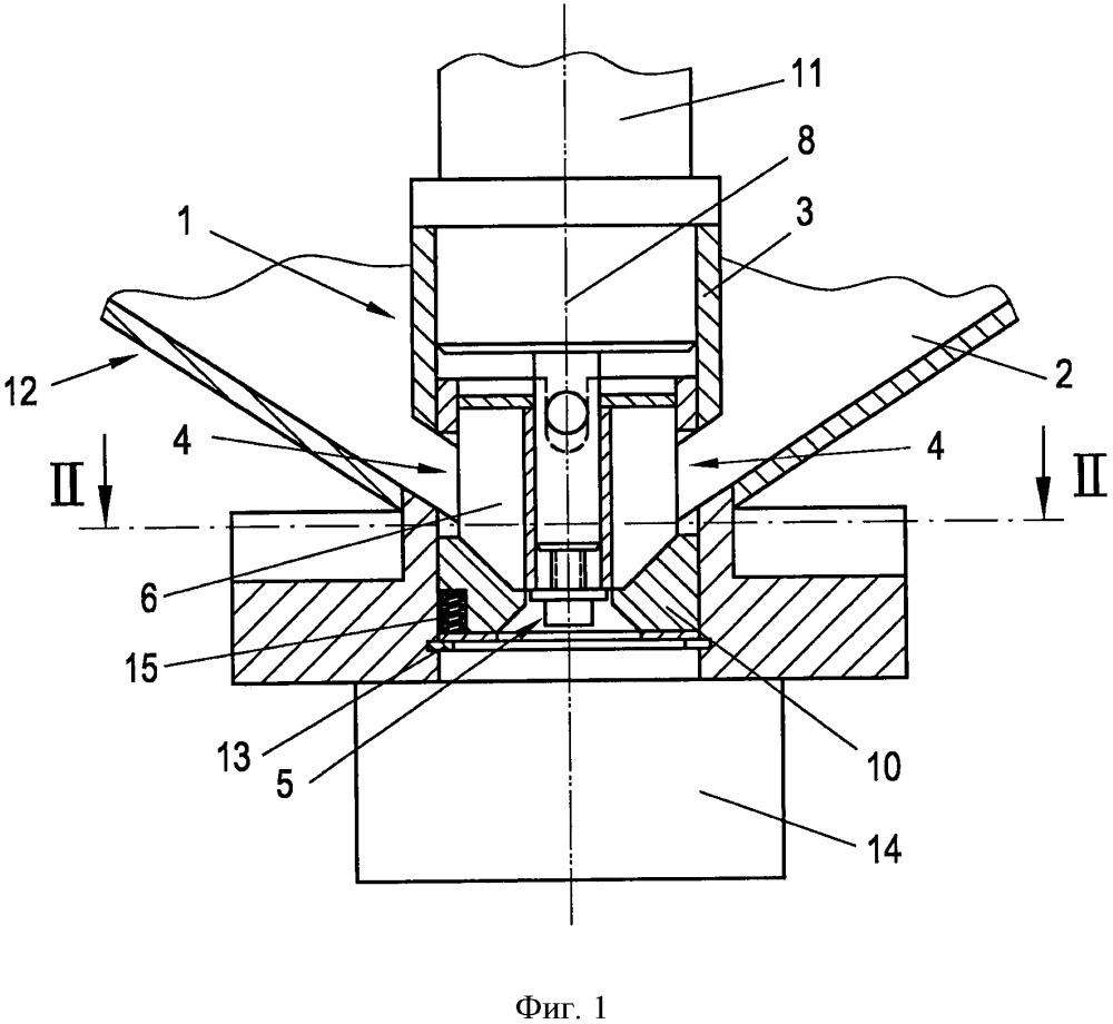 Разгрузочное устройство для гранулированного продукта