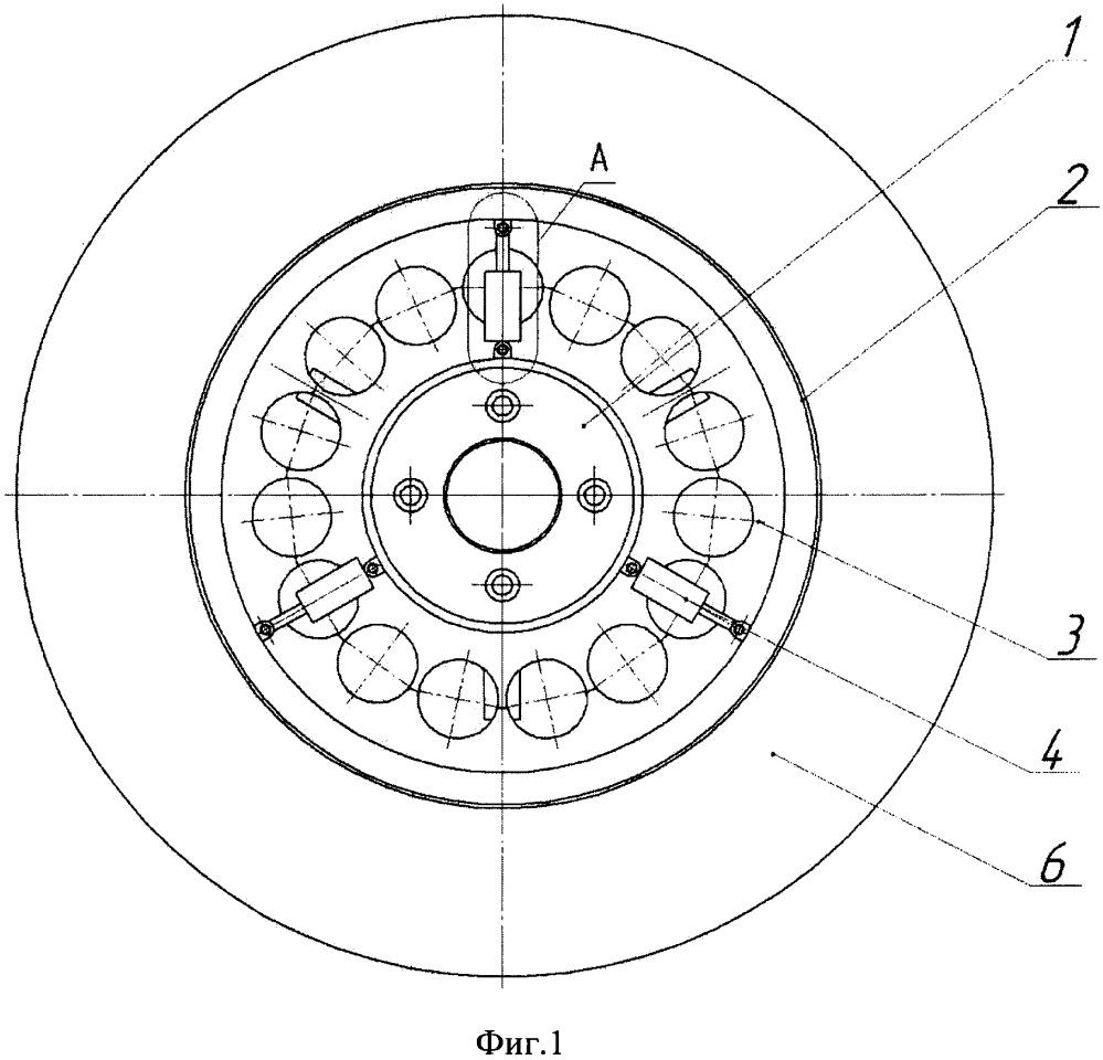 Колесо с внутренним подрессориванием и демпфирующими элементами