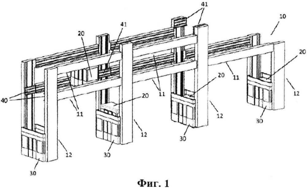 Система для вертикального и горизонтального перемещения