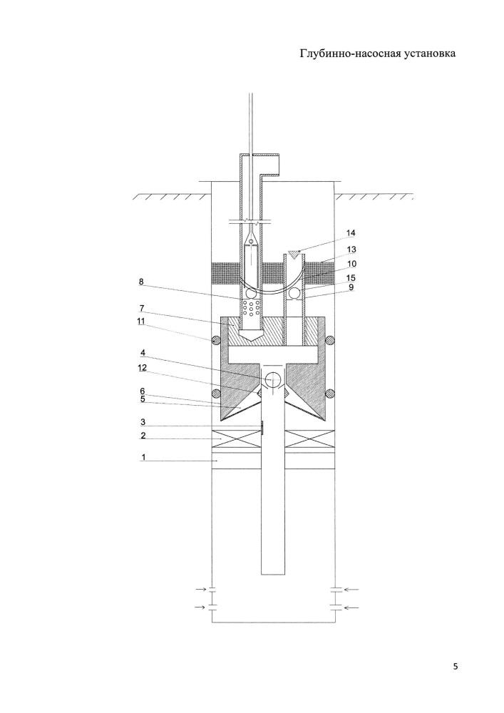 Глубинно-насосная установка