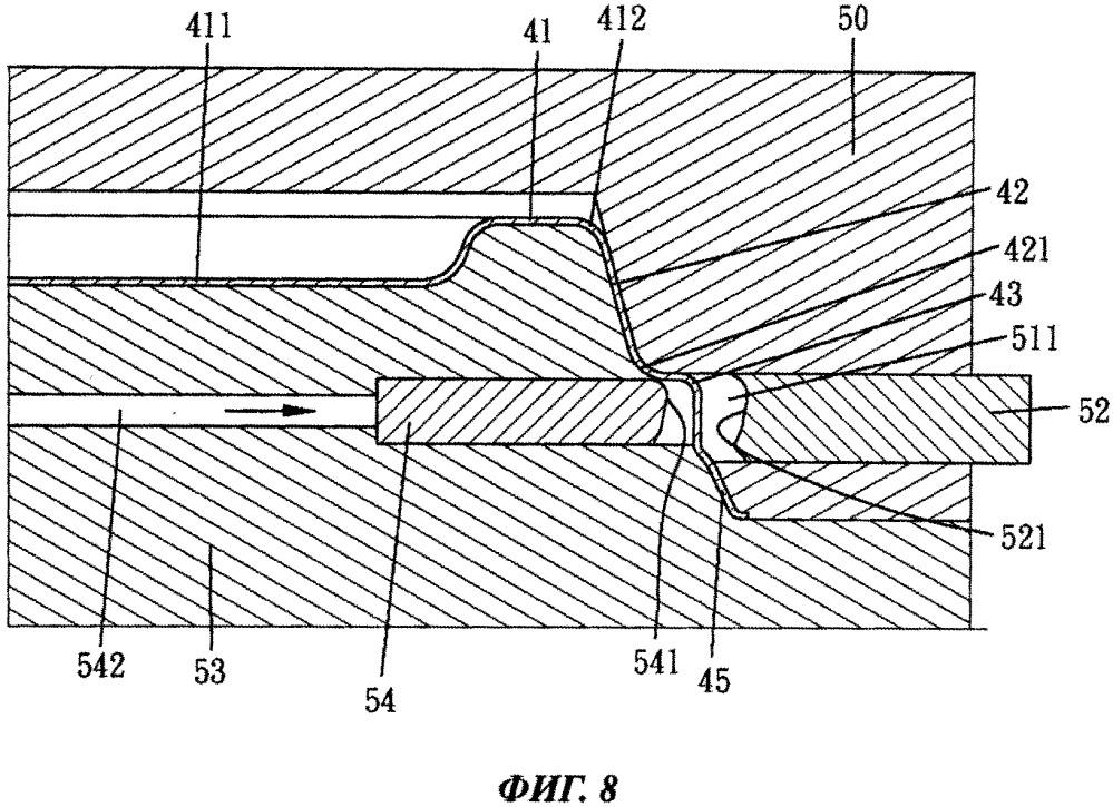 Способ изготовления внешней закрывающей кромки формованной крышки стакана