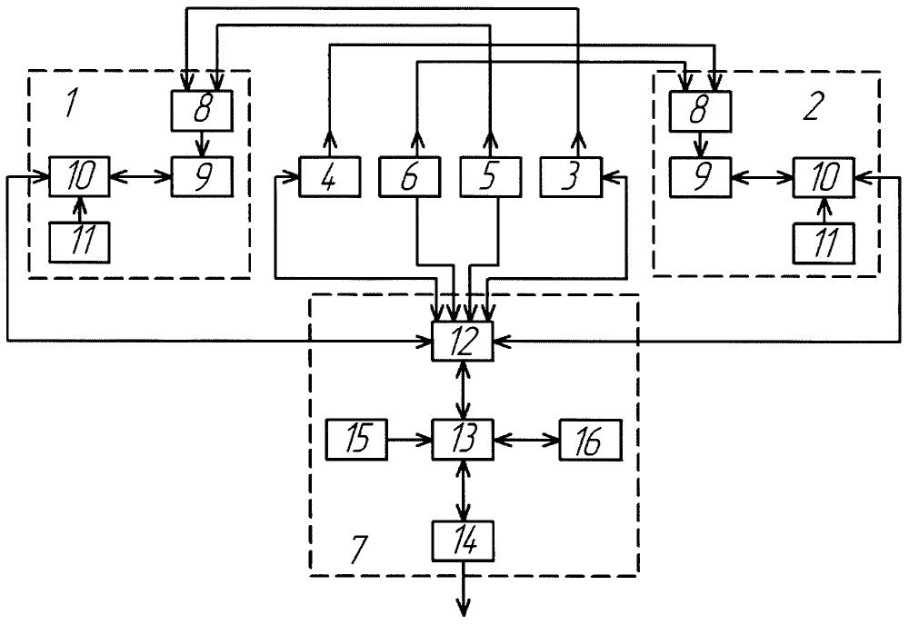 Устройство для контроля деформаций поверхности конструкций и сооружений большой площади