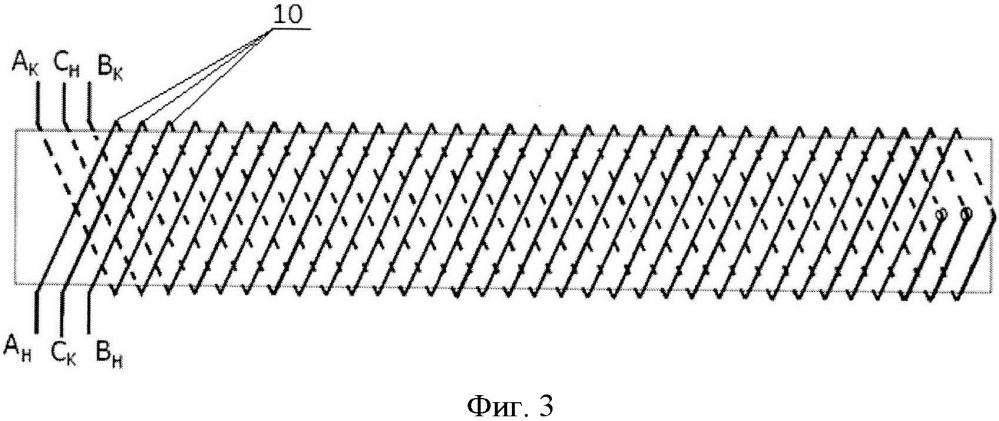 Фазовый датчик линейных перемещений