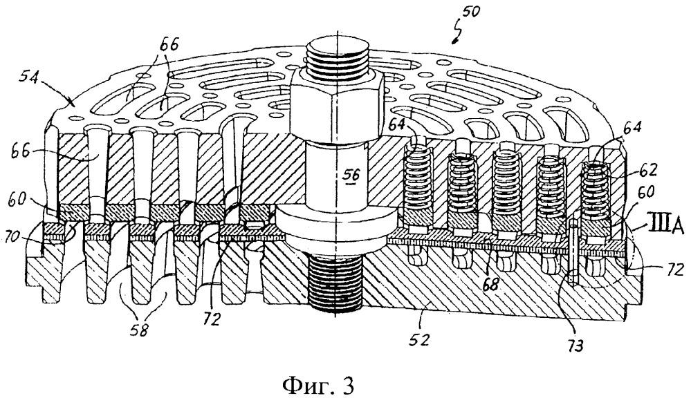 Автоматический клапан с заменяемой гнездовой пластиной