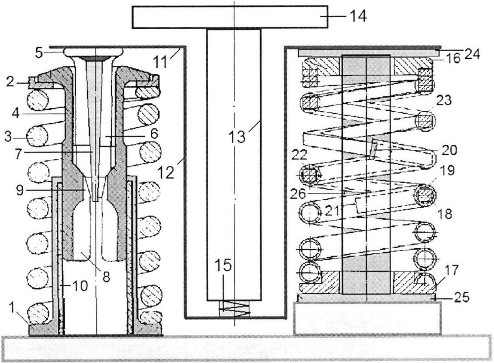Система виброизоляции с фрикционным демпфером