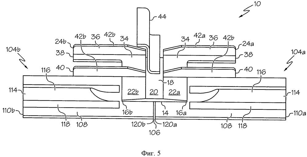 Стыковое соединение по окружности для конструкций обшивки