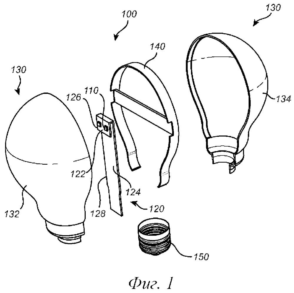 Осветительное устройство и способ изготовления осветительного устройства